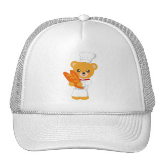 Gorra del oso de la panadería