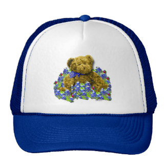 Gorra del oso del Bluebonnet