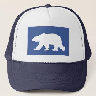 Gorra del oso polar. Haga una declaración