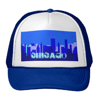 Gorra del paisaje urbano de Chicago
