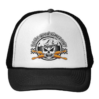 Gorra del panadero del cráneo Deje el buen rollo