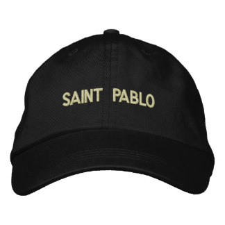Gorra del papá de Pablo del santo