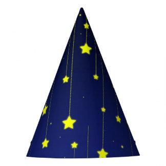 Gorra del papel de noche estrellada