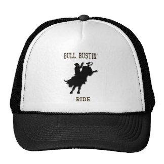 Gorra del paseo de Bull Bustin