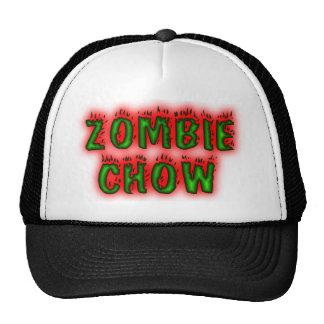 Gorra del perro chino del zombi