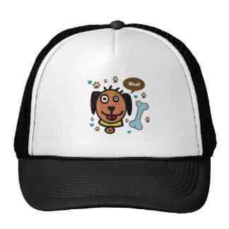 Gorra del perro del tejido