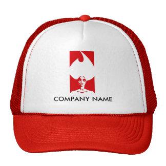 Gorra del personalizable de la mujer de la llama