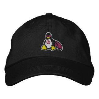 Gorra del pingüino del vengador de Linux