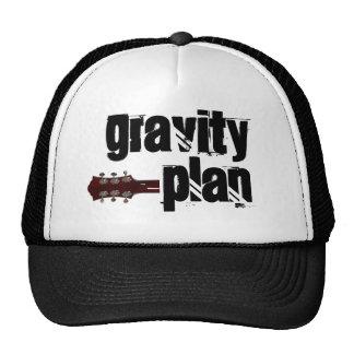 Gorra del plan de la gravedad