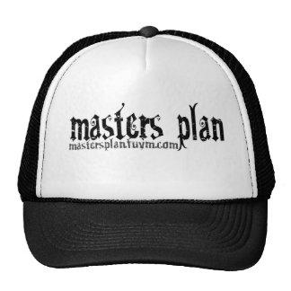 Gorra del plan maestro