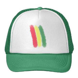 gorra del rasta