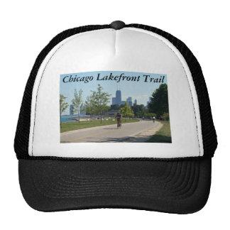 Gorra del rastro de la orilla del lago de Chicago