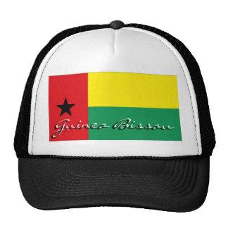 Gorra del recuerdo de la bandera de Guinea-Bissau