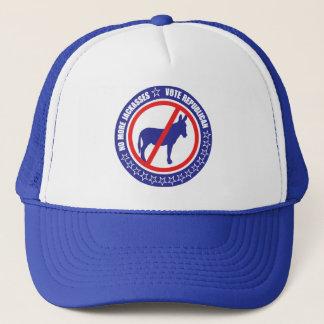 gorra del republicano del voto
