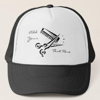 Gorra del salón del estilista del peluquero del