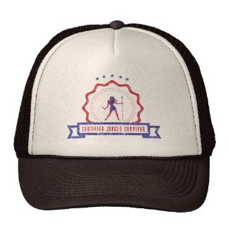 Gorra del sello de la mujer de la selva