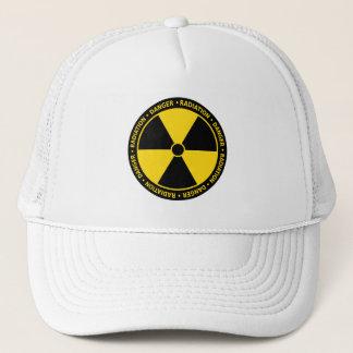 Gorra del símbolo de la radiación