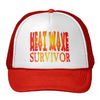 Gorra del superviviente de la ola de calor