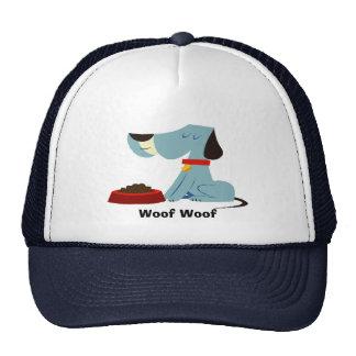 Gorra del tejido del tejido del perrito
