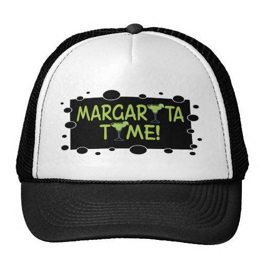 Gorra del tiempo de Margarita