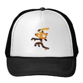 Gorra del tigre de la mascota