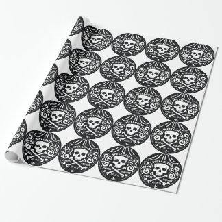 Gorra del traje de la barra del pirata de la ropa papel de regalo