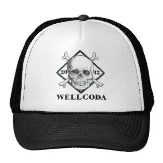 Gorra del traje del cráneo del pirata de la ropa