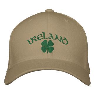 Gorra del trébol de Irlanda Gorra De Beisbol Bordada