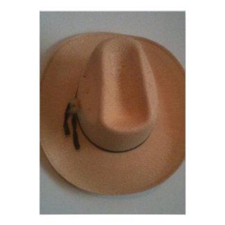gorra del vaquero o de la vaquera invitación