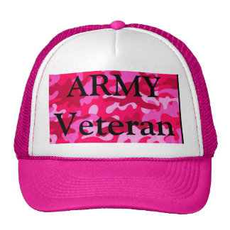 Gorra del veterano de la mujer