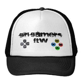Gorra del videojugador FTW del chica