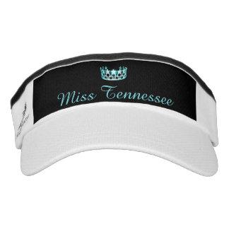 Gorra del visera de la corona de la aguamarina de