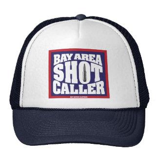 Gorra del visitante del tiro del área de la bahía