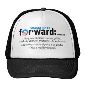 Gorra delantero de Obama 2012