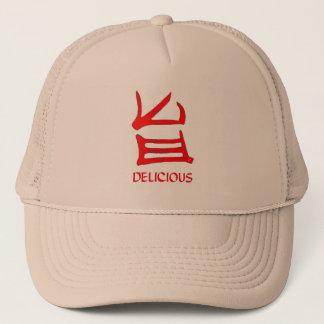 Gorra delicioso del camionero del rojo JE del