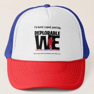 Gorra deplorable del camionero