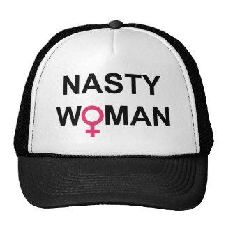 Gorra desagradable del voto de la mujer