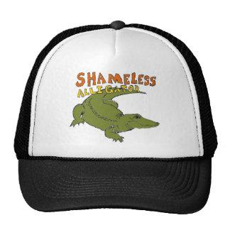 Gorra desvergonzado del cocodrilo