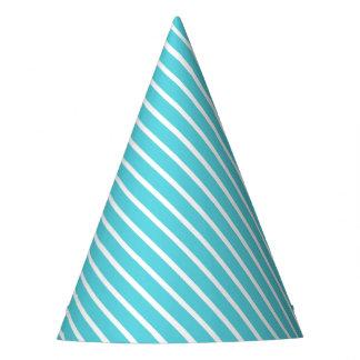 Gorra diagonal del fiesta de la raya de la