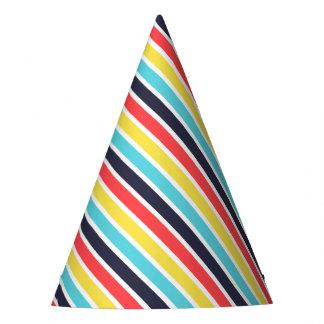 Gorra diagonal multi del fiesta de la raya del