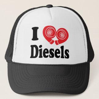 Gorra diesel del camionero