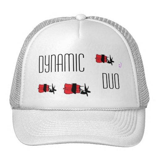 gorra dinámico del camionero del dúo