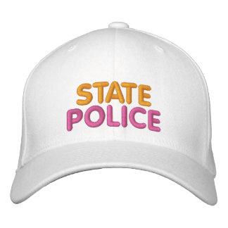 Gorra divertido bordado policía del estado de Bost Gorra De Beisbol