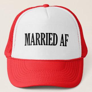 Gorra divertido casado del AF