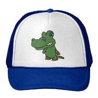 Gorra divertido del cocodrilo