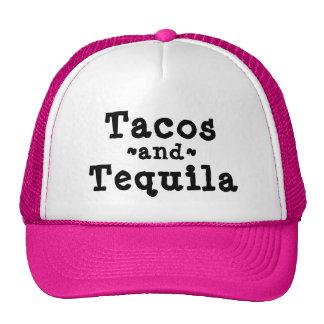 Gorra divertido del Tacos y del camionero del