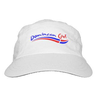 Gorra dominicano del chica gorra de alto rendimiento