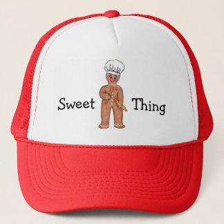 Gorra dulce del pan de jengibre de la cosa