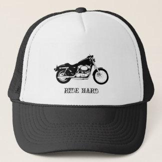 Gorra DURO del camionero de la motocicleta del