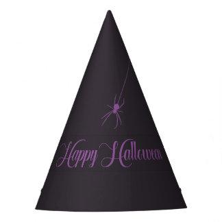 Gorra elegante del papel del feliz Halloween